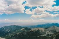 A view from the top of Wheeler Peak at over 13,000 ft